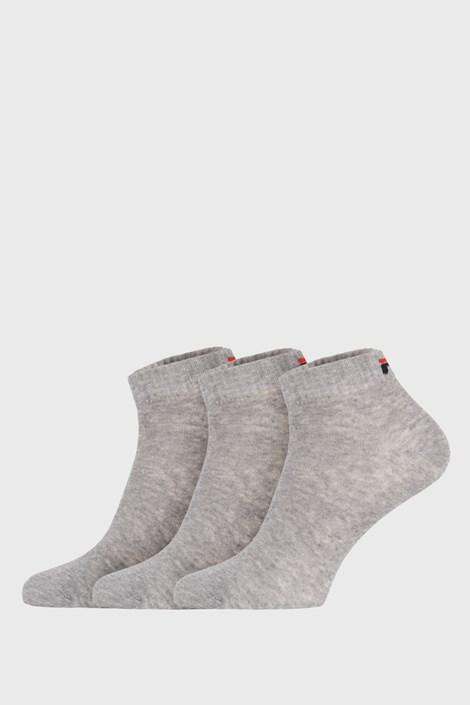 3 pack sivih niskih čarapa FILA