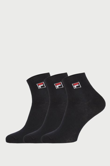 3 pack черни чорапи до глезена FILA