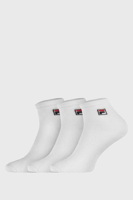 3-pack bijelih čarapa do gležnja FILA