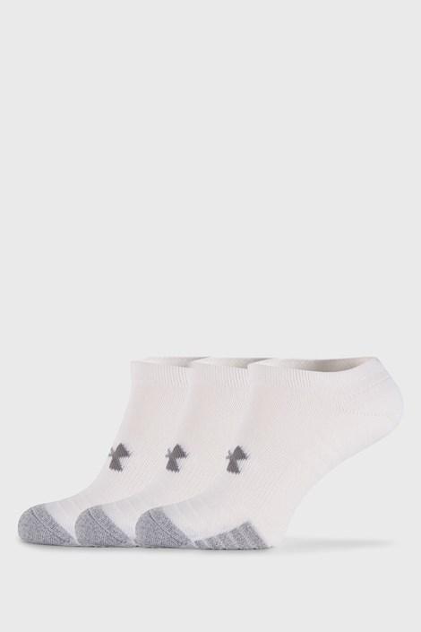 3 PACK bielych ponožiek Under Armour