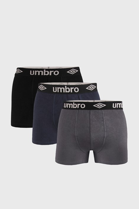3 PACK boksaric Umbro Organic Cotton