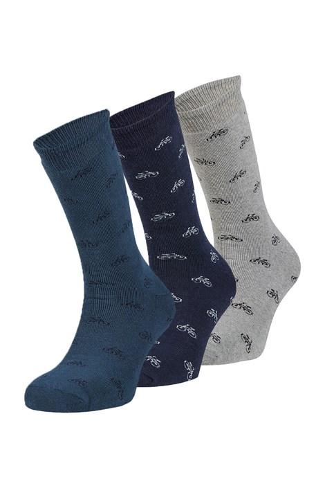 3 pack hrejivých ponožiek Joel