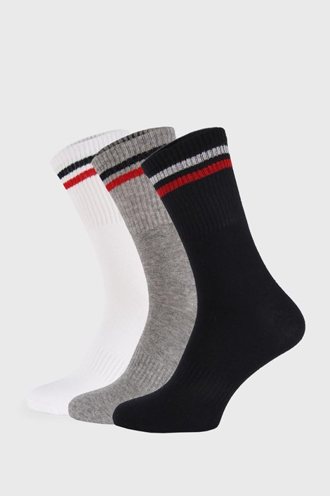 3 PÁR magas szárú zokni Sports