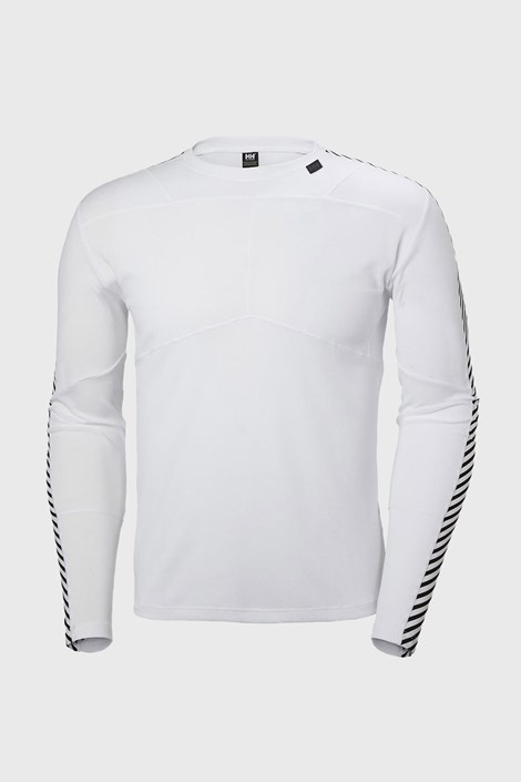 Biele tričko s dlhými rukávmi Helly Hansen