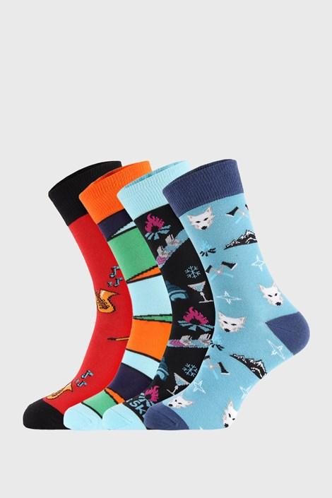 4 PÁR zokni Bellinda Crazy Socks Winter