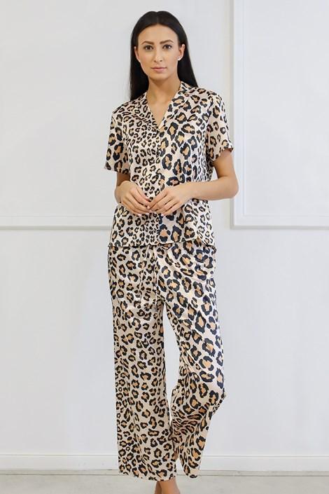 Saténové pyžamo Animal