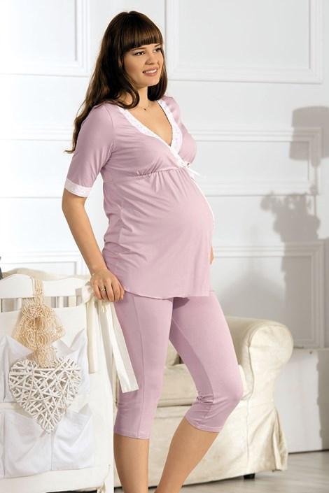 Пижама за бременни и кърмачки Beatrice