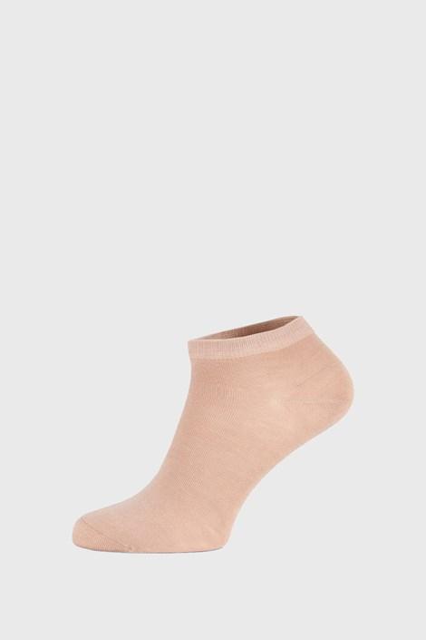 Béžové bambusové ponožky nízke