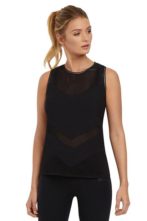 Freya női sport póló, fekete