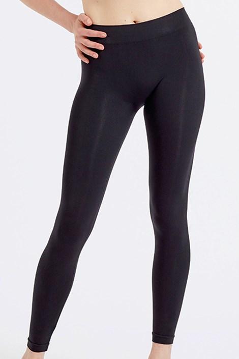 ECO fekete női leggings, varrások nélkül