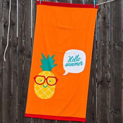 Детска плажна кърпа Ananas