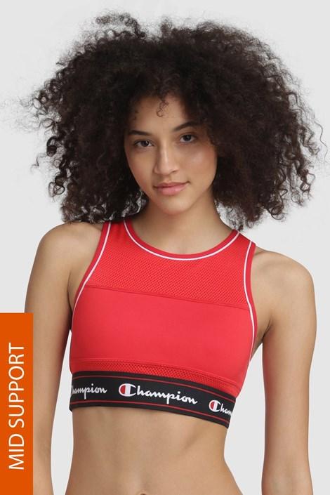 Biustonosz sportowy Champion Red Scarlet