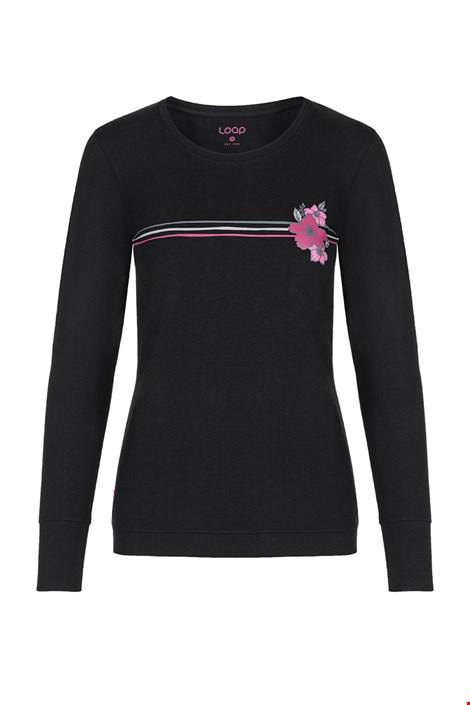 Дамска черна блуза LOAP Adema