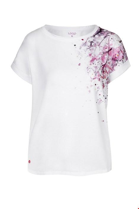 Dámske biele tričko LOAP Alyssa