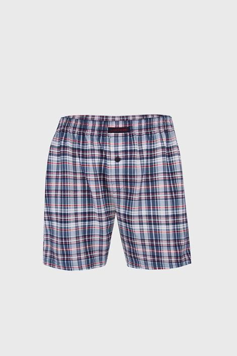 Comfort II férfi alsónadrág kék, kockás mintás