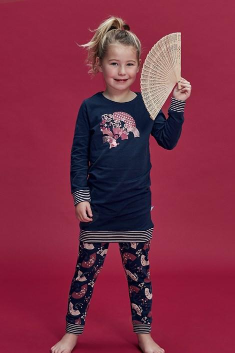 Пижама за момичета Flowery