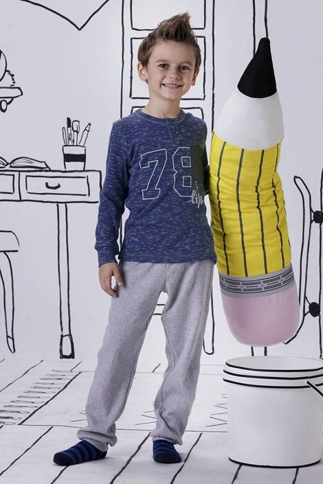 Fantovska pižama Jacqard