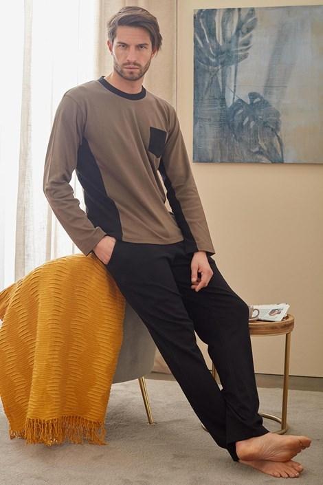 Pijama Christopher, maro-verde