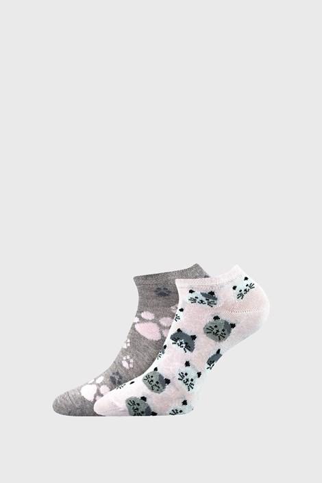 Cats női zokni, 2 pár 1 csomagban