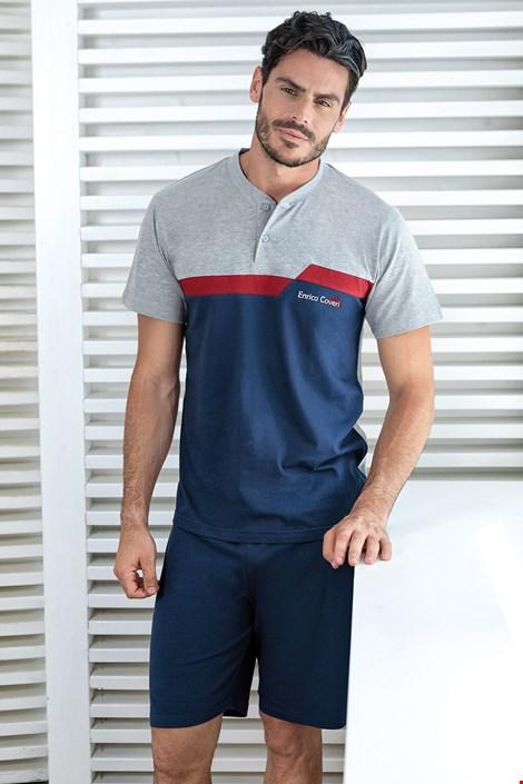 Modré pyžamo Basile