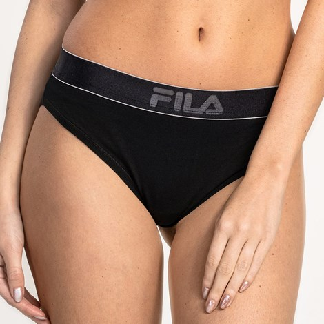 Бразилски бикини FILA 6108 черни