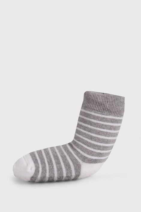 Dječje prugaste čarape protiv klizanja