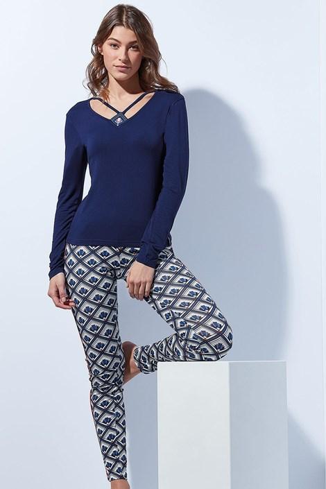 Pijama eleganta Tie