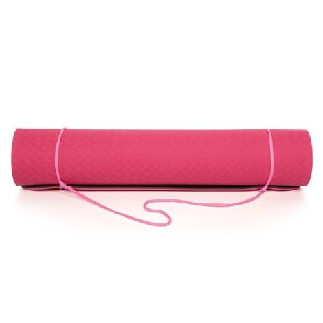 Розова постелка за йога LOAP Aarti