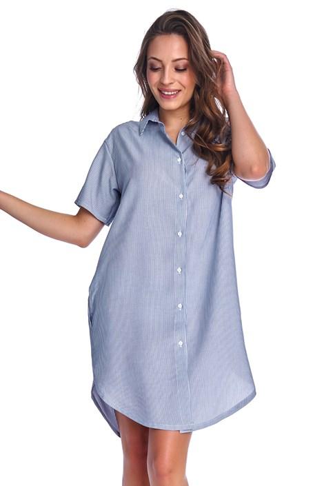 Camasa de noapte Franchesca Blue, alaptare