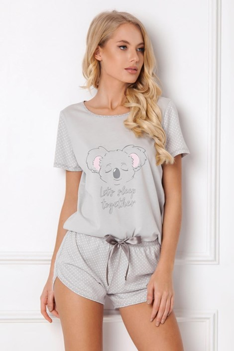 Дамска пижама Koally къса