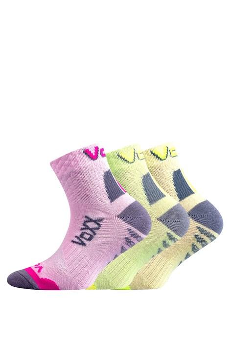 3 pack dievčenských ponožiek Kryptoxík