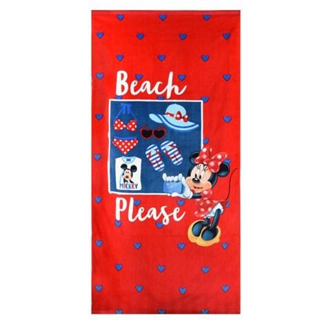Dievčenská plážová osuška Minnie