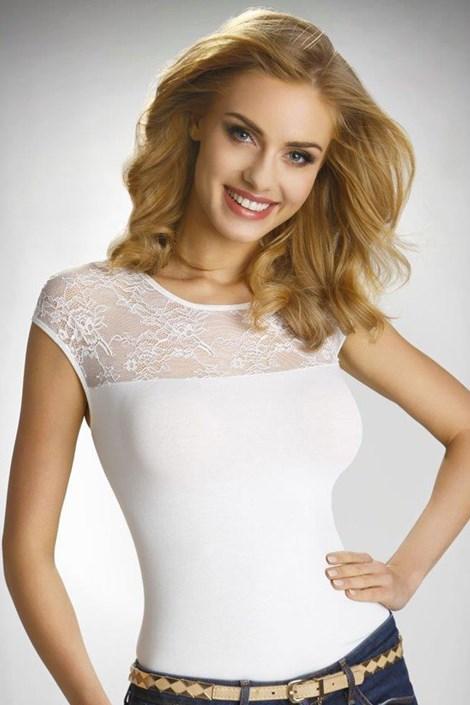 Ženska elegantna čipkasta majica Paulina