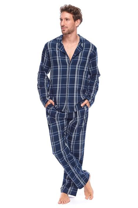 Pijama barbateasca Alan, stil camasa