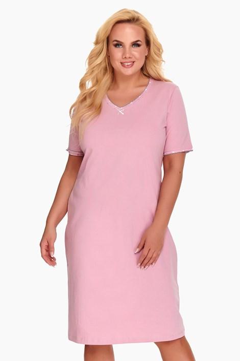 Damska koszula nocna Dorine różowa