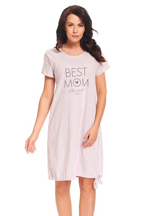 Best Mom Pink - kismama, szoptatós hálóing