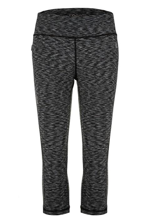 Damskie czarne legginsy 3/4 LOAP Madyla