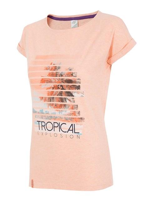 Dámske športové tričko 4f Tropical Coral