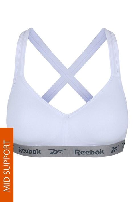 Αθλητικό σουτιέν Reebok CARA λευκό