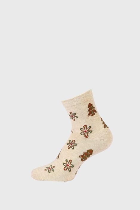 Детски коледни чорапки Снежинка
