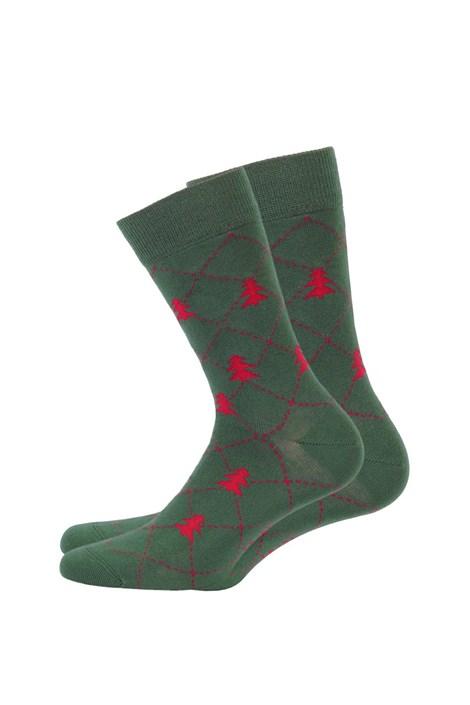 Pánske vzorované ponožky 970