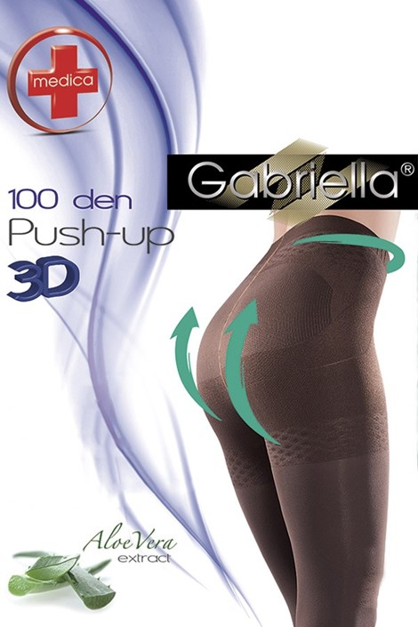 Čarape s gaćicama Push–Up 100 DEN
