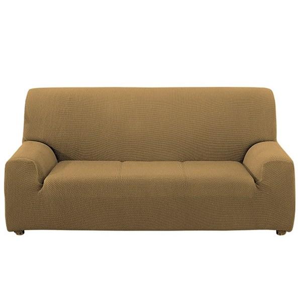 Alaska háromszemélyes kanapéhuzat, bézs