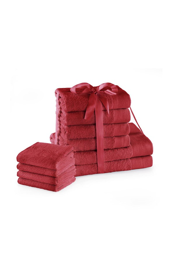 Amari Family törölköző garnitúra piros