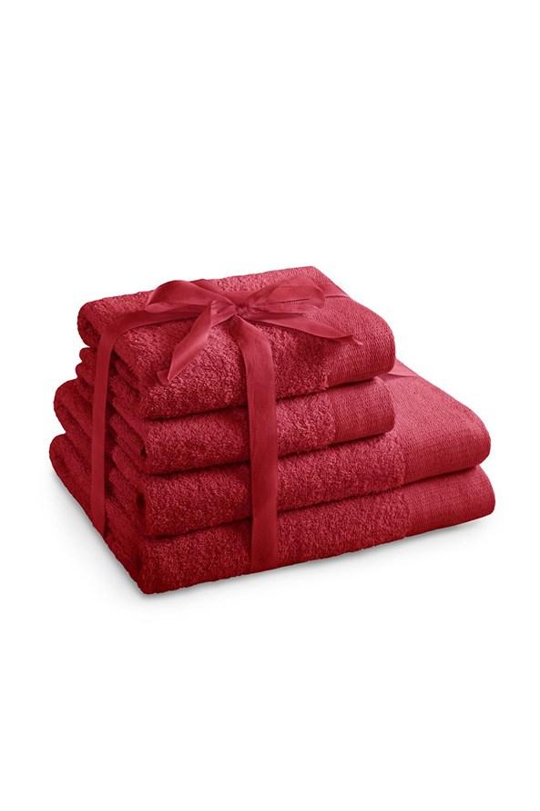Súprava uterákov Amari červená