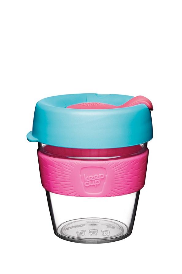 Cana Keepcup 227 ml, din sticla, roz