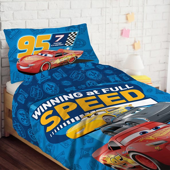 Lenjerie de pat Cars. pentu copii