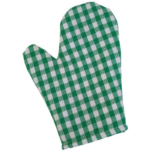 Manusa bucatarie Kanafas, verde