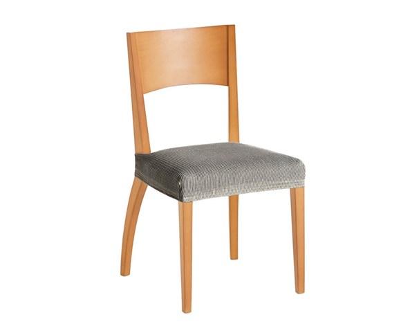 Súprava 2 poťahov na stoličku bielo-čierna
