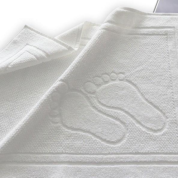 Dywanik łazienkowy Feet biały
